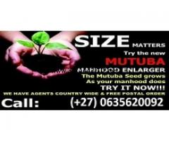 Contact us about penis enlargement with mutuba seed +27635620092
