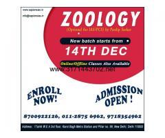 Zoology Optional Coaching, UPSC IAS Best Coaching in India